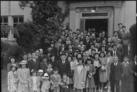 Japanese American congregation prior to mass removal (ddr-densho-151-95)