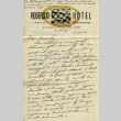 Letter from a camp teacher to her family (ddr-densho-171-26)