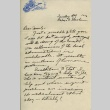 Letter from a camp teacher to her family (ddr-densho-171-82)