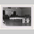 Lotus Kidettes Drill Team performs in a gymnasium (ddr-sbbt-6-113)