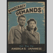 Democracy demands: fair play for America's Japanese (ddr-csujad-55-2623)