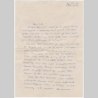 Letter to Sally Domoto from Urmle (ddr-densho-329-129)