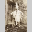 Man in Buddhist outfit (ddr-densho-128-5)