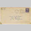 Letter (with envelope) to Molly Wilson from Yuri Shimokochi (c. 1943) (ddr-janm-1-58)