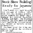 Stock Show Building Ready for Japanese (April 14, 1942) (ddr-densho-56-753)
