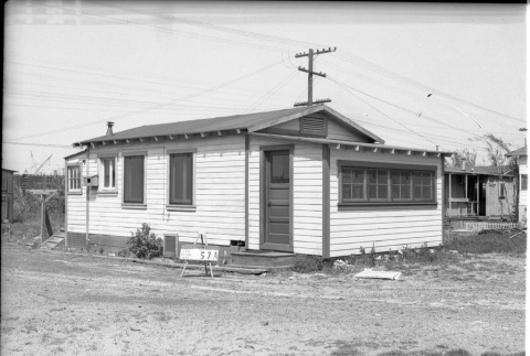 House labeled East San Pedro Tract 57A (ddr-csujad-43-92)