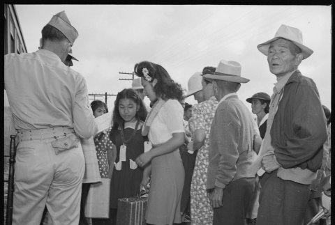 Japanese Americans moving to a different camp (ddr-densho-37-803)