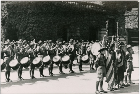 First Hill drum and bugle corps (ddr-densho-353-360)