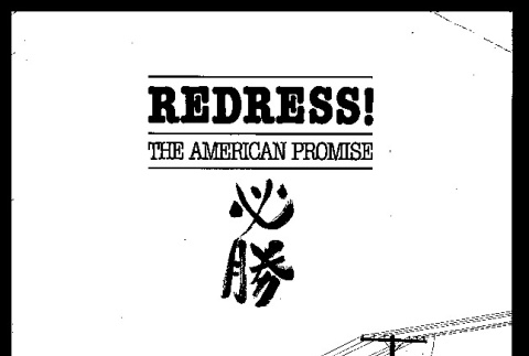 Redress! The American promise (ddr-csujad-55-105)