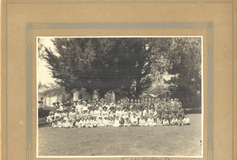 Yearly meeting of Friends Church, 1921 (ddr-csujad-57-6)