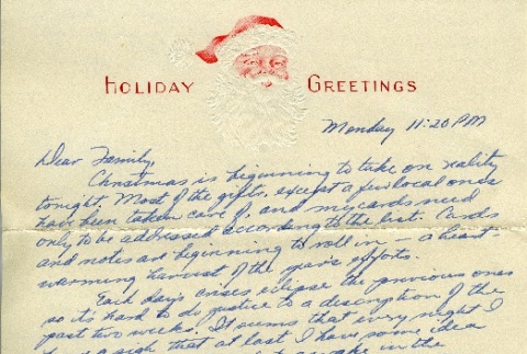 Letter from a camp teacher to her family (ddr-densho-171-65)