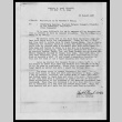 Memo from Frank S. Okusako, 1st Lt, Infantry, Company H, 442d Infantry to Commanding General, Western Defense Command, Presidio of San Francisco, California (Thru Channels), August 30, 1945 (ddr-csujad-55-229)