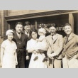 Group in front of the Japanese American Courier offices (ddr-densho-101-1)