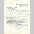 Letter from T. Takahashi and Family to Rev. Wendell L. Miller, May 14, 1942 (ddr-csujad-20-5)