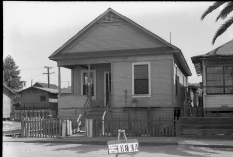 House labeled East San Pedro Tract 183A (ddr-csujad-43-108)