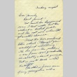 Letter from a camp teacher to her family (ddr-densho-171-72)