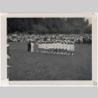Lotus Kidettes Drill Team performs in a field (ddr-sbbt-6-109)