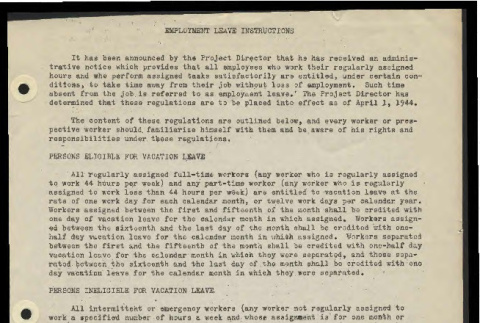 Employment leave instructions (ddr-csujad-55-679)