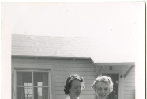 Camp director's wife and daughter (ddr-manz-7-1)