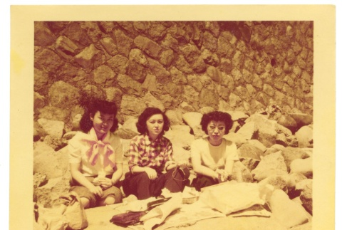 Lunch on a Rock Wall (ddr-one-2-422)