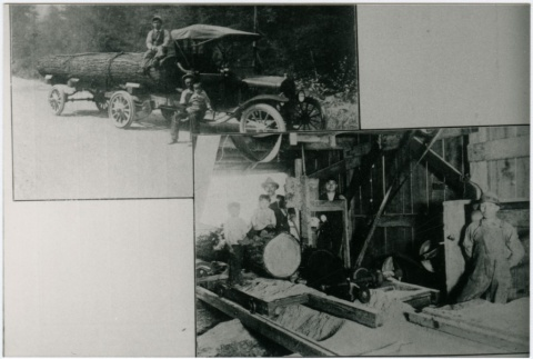 Photos of lumber mill workers (ddr-densho-353-36)