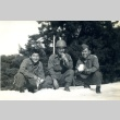 Three soldiers in the snow (ddr-densho-22-252)