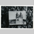 [Guards on duty in guard tower] (ddr-csujad-29-159)