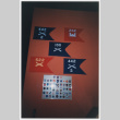 Flags in 442nd RCT exhibit at Smithsonian (ddr-densho-368-261)