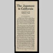 Japanese in California: comments in the California press (ddr-csujad-55-360)