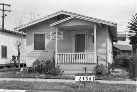 House labeled 235A1 (ddr-csujad-43-134)