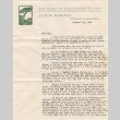 Letter and news clipping sent to Kaneji Domoto (ddr-densho-329-1)