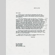 Letter to Larry Tajiri from Margaret Anderson, editor of Common Ground (ddr-densho-338-465)