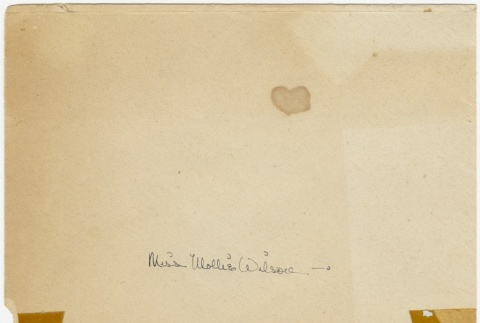 Birthday card (with envelope) to Mollie Wilson from Sandie Saito (ddr-janm-1-26)