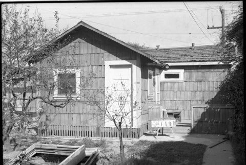 House labeled East San Pedro Tract 119B (ddr-csujad-43-70)