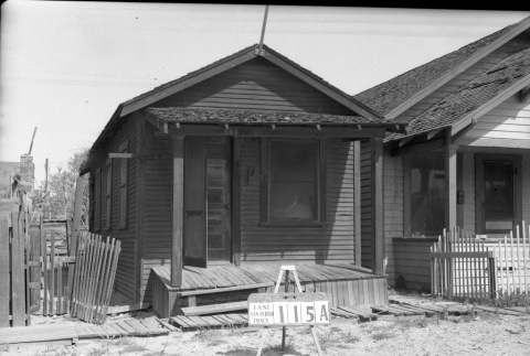 House labeled  East San Pedro Tract 115A (ddr-csujad-43-58)
