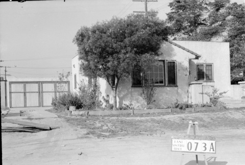 House labeled East San Pedro Tract 073A (ddr-csujad-43-144)