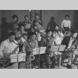 Swing Band practice at Heart Mountain incarceration camp (ddr-csujad-14-51)