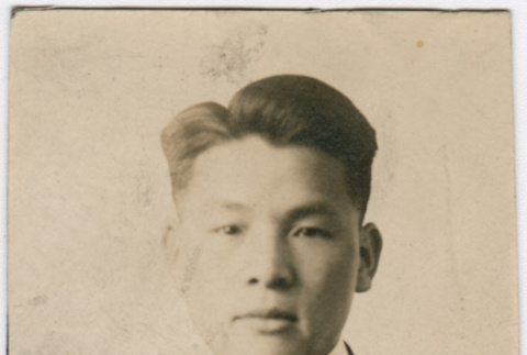 Young man in suit (ddr-densho-348-36)
