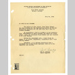 Letter from Joe H. Janeway, Chief Engineer, Gila River Project, War Relocation Authority, United States Department of Interior, July 26, 1944 (ddr-csujad-42-101)