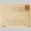 Christmas card (with envelope) to Molly Wilson from Sandie Saito (December 18, 1943) (ddr-janm-1-18)