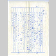 Letter from Mrs. K. Befu to Mr. and Mrs. S. Okine, January 15, 1946 [in Japanese] (ddr-csujad-5-119)