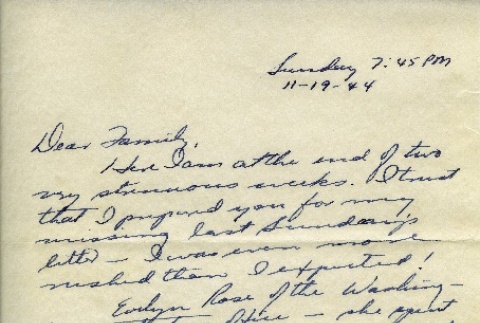 Letter from a camp teacher to her family (ddr-densho-171-64)
