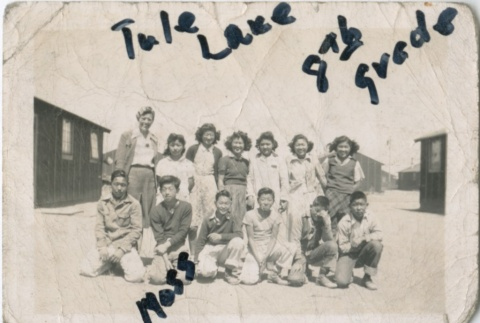 Class picture at Tule Lake (ddr-densho-321-48)