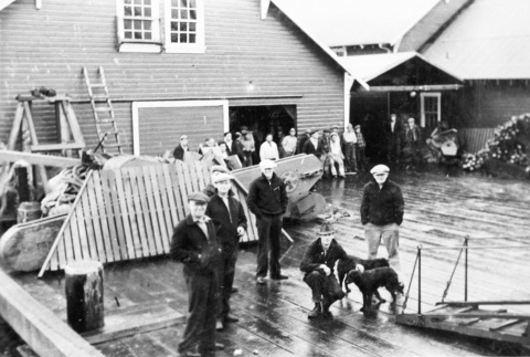 Departure from the canneries (ddr-densho-15-42)
