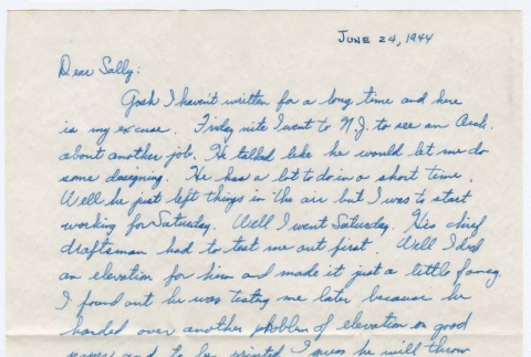 Letter to Sally Domoto from Kan Domoto (ddr-densho-329-182)