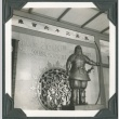 A statue in the Japan Pavilion at the Golden Gate International Exposition (ddr-densho-300-204)