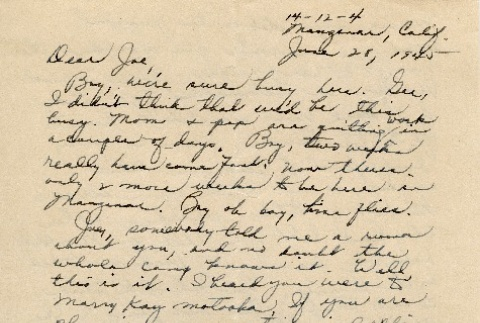 Letter to a Nisei man from his sister (ddr-densho-153-138)