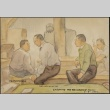 Painting of men listening to music (ddr-manz-2-22)