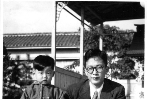 Family in Japan] (ddr-csujad-25-174)