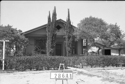 House labeled 286A1 (ddr-csujad-43-137)
